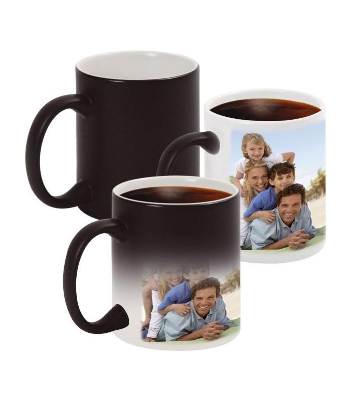 mug magique avec photo