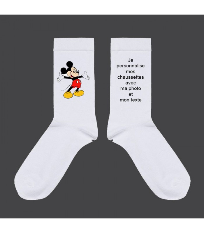 chaussette personnalisé
