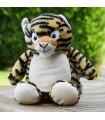 Peluche tigre personnalisé