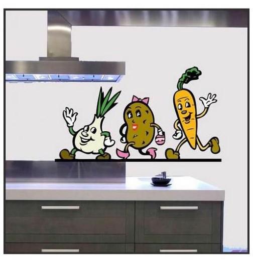 Sticker cuisine legumes