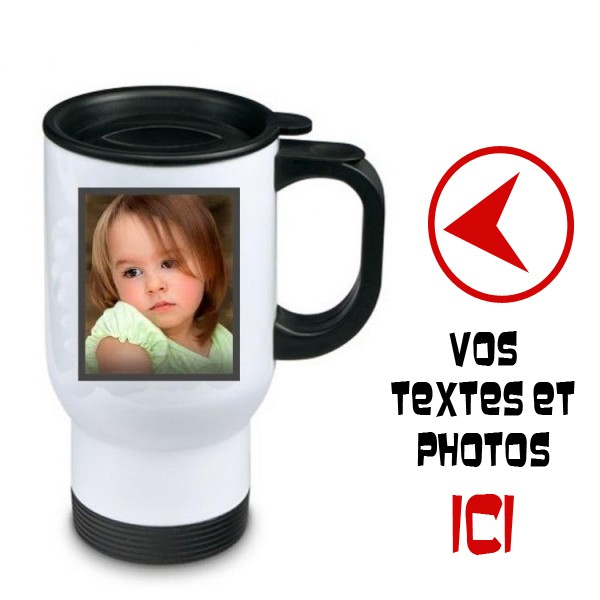 tasse thermo personnalisee