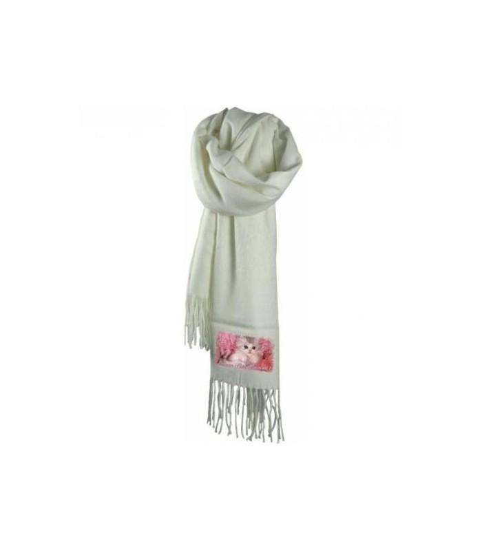 Photo sur une écharpe, écharpe personnalisée avec photo et texte