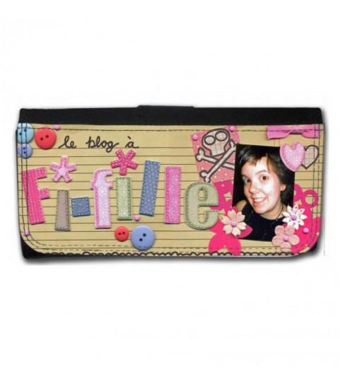 Portefeuille femme personnalisé photo