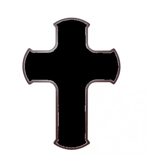 Croix avec sa photo