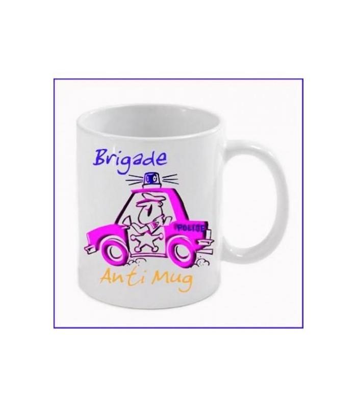 Mug brigade, mug rigolo en cadeau