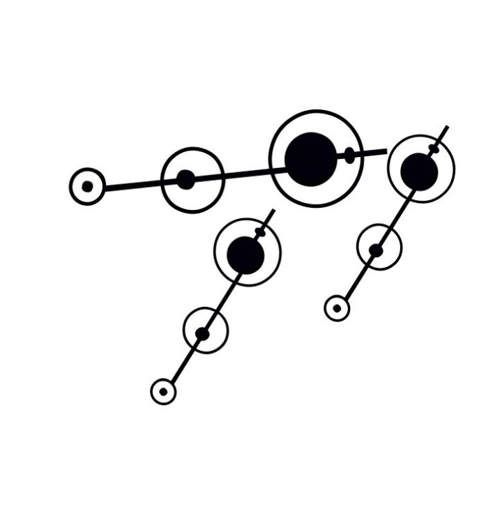 Sticker geometrique 16