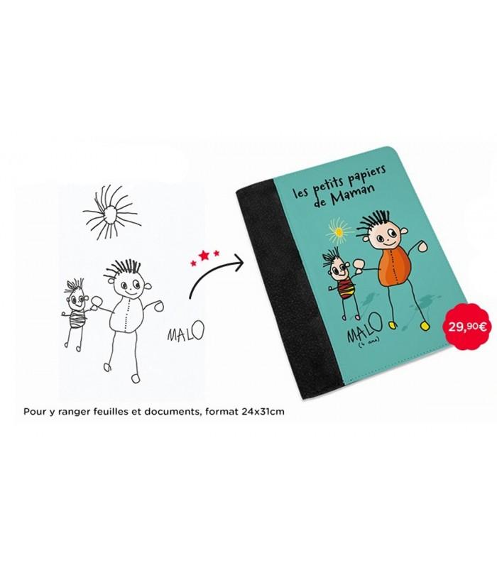 Pochette documents dessin enfant