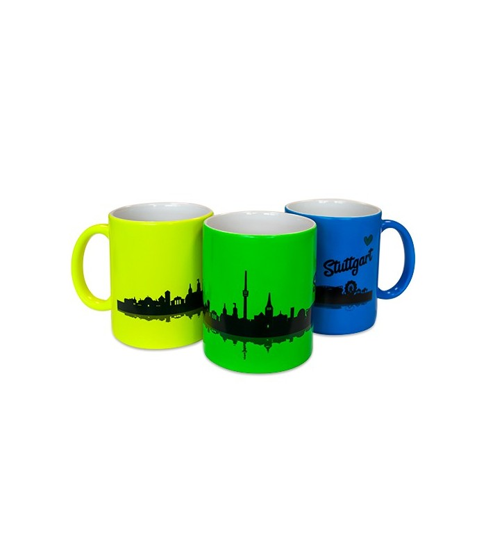 Mug tasse fluo personnalisé