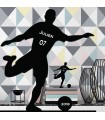 Statuette plexiglas footballeur personnalisee
