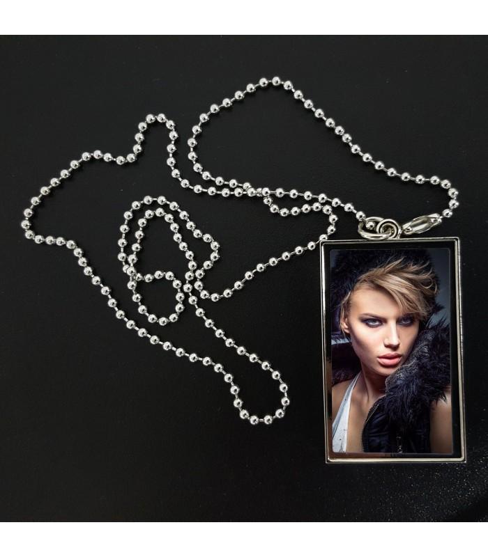 Chaine et pendentif photo