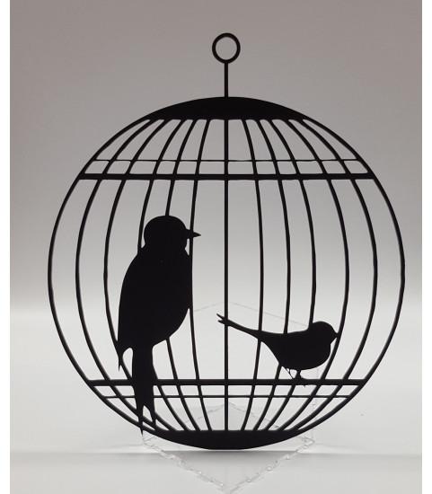 Décoration cage et oiseau