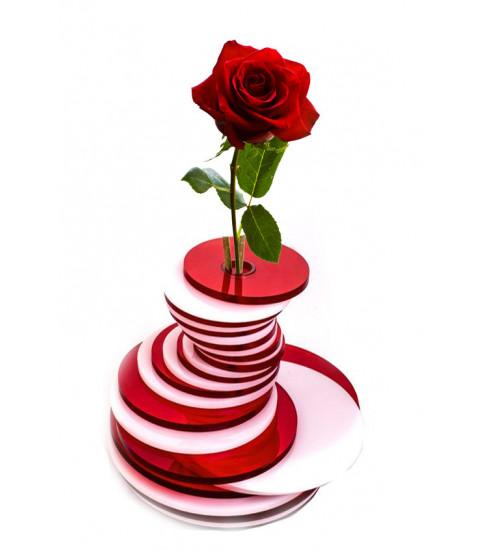 Vase design spirales