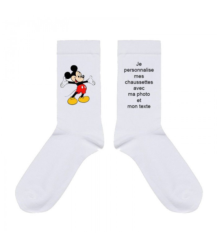 chaussettes personnalisees