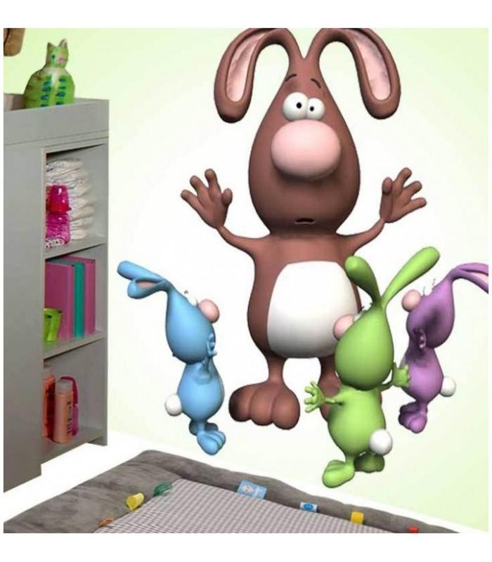 sticker lapins