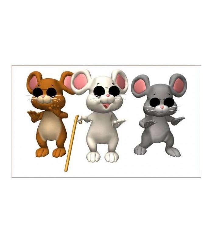 sticker souris aveugles