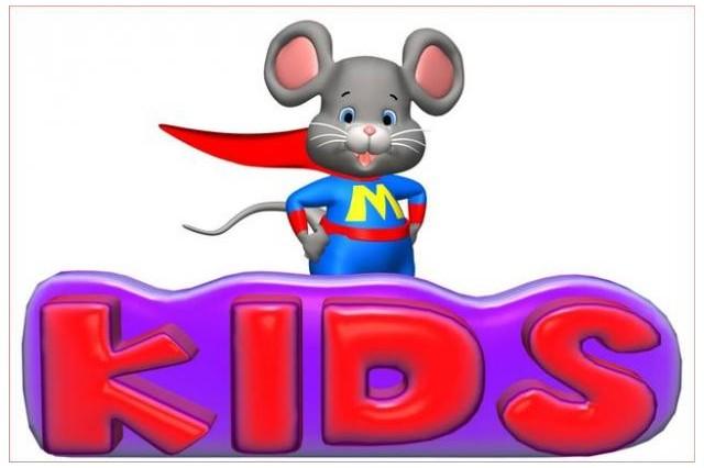 Sticker souris superman