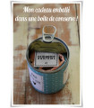 Boite cadeau conserve personnalisee