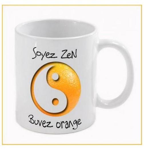 Mug en cadeau soyez zen