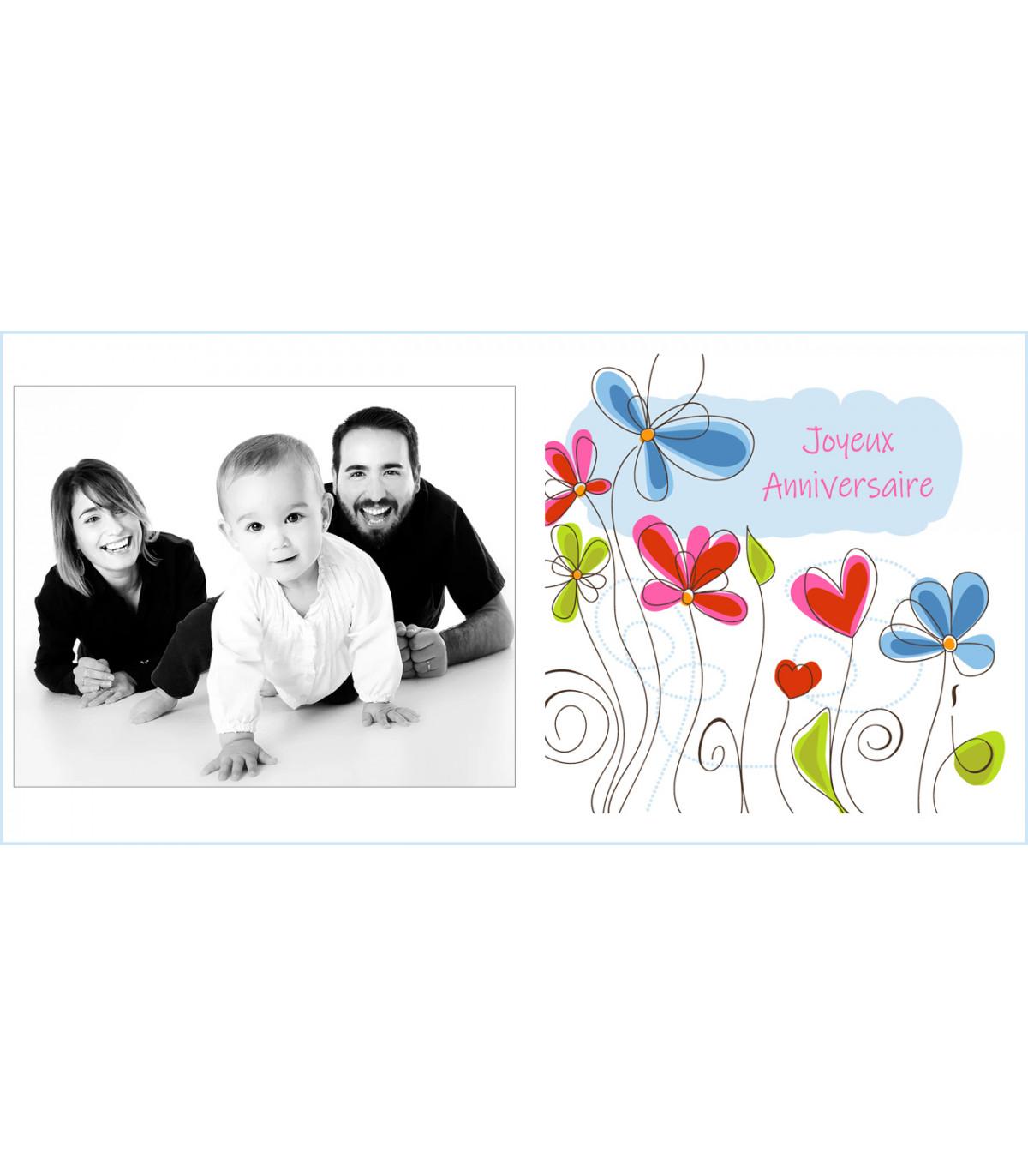 Votre carte postale personnalisée haut de gamme envoyée pour