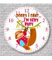 Horloge le paresseux