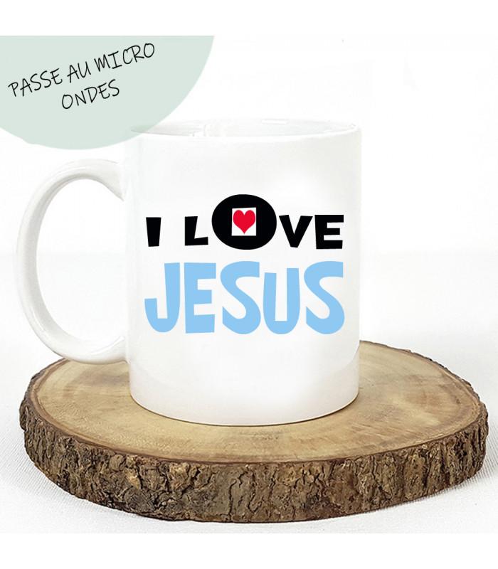 Mug j'aime jesus