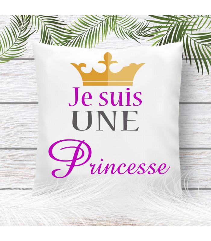 coussin princesse