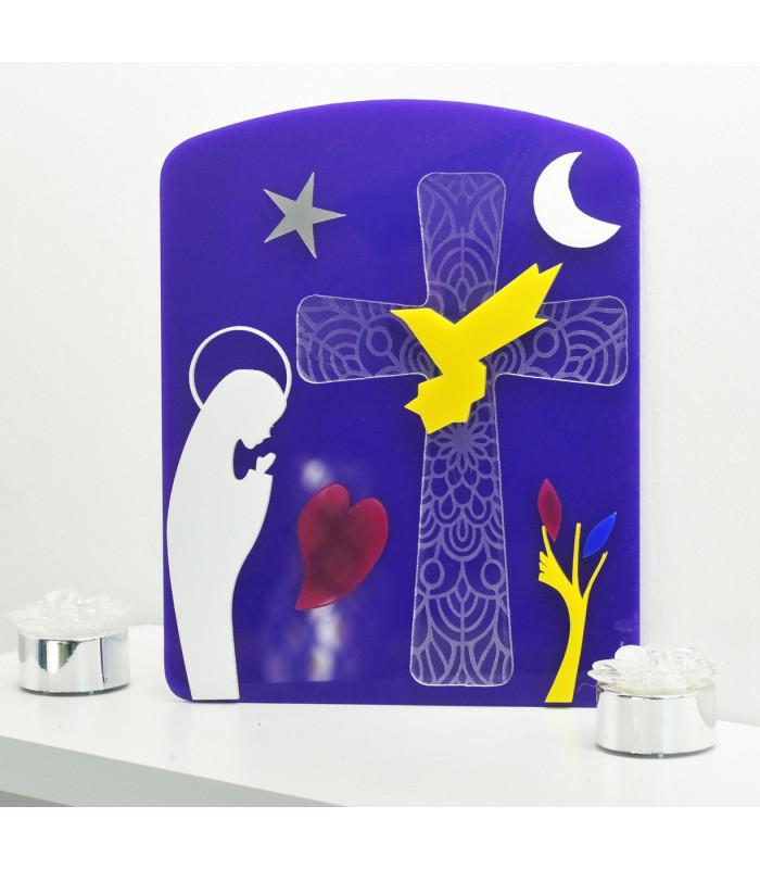 Plaque Vierge Marie Design