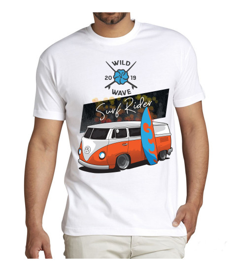 tee shirt surf rider