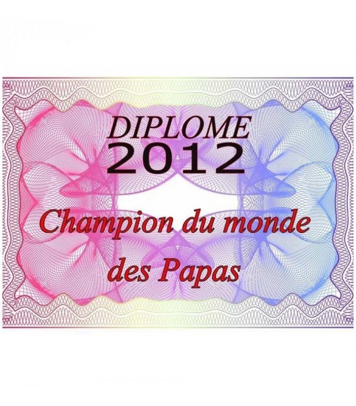 diplome personnalise pas cher