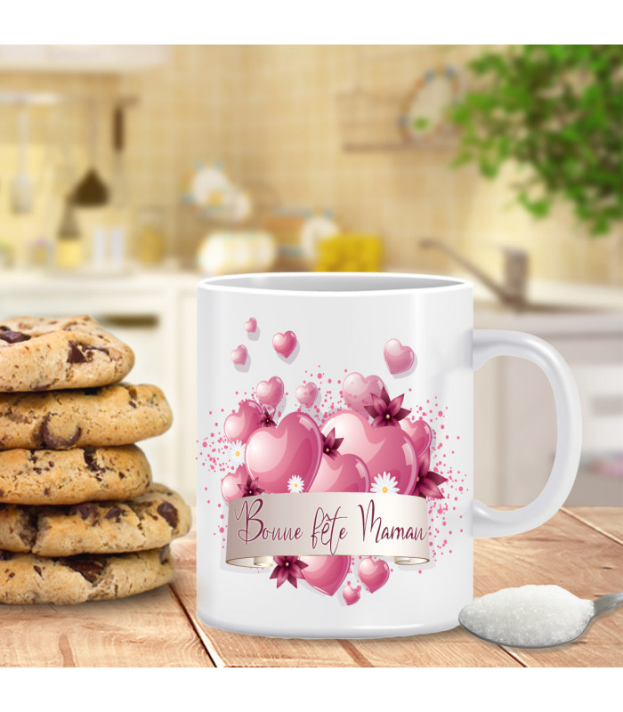 Mug bonne fête ma maman