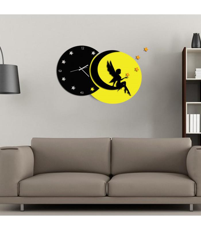 Horloge lune et fee