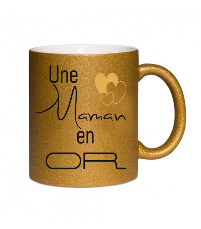 Mug or maman en or