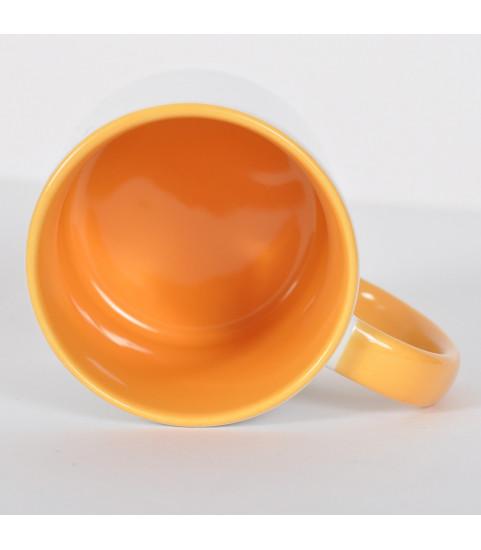interieur mug jaune personnalise
