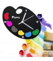 Horloge pour peintre