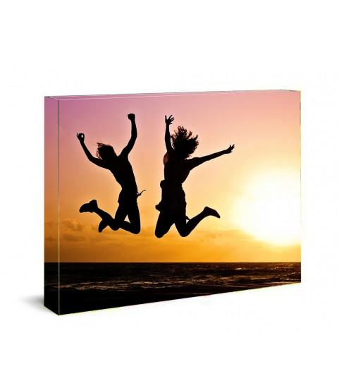 cadre photo acrylique