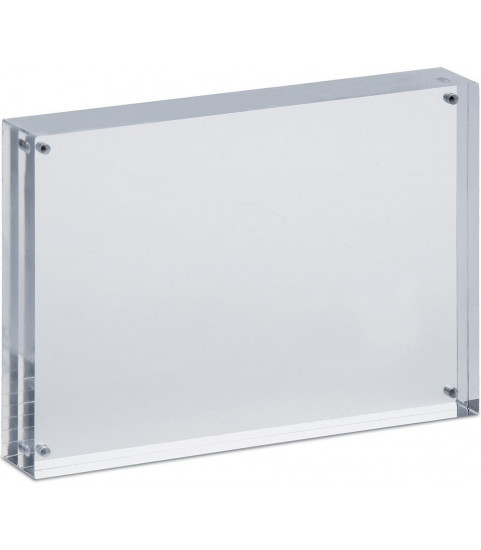 cadre photo en acrylique