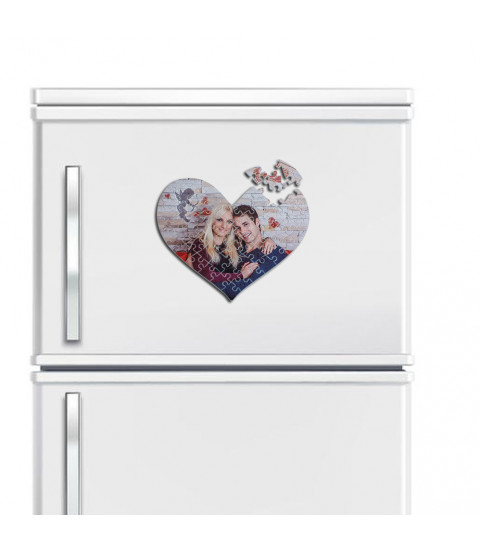 puzzle pour frigo avec photo