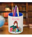 Pot crayons interieur couleur