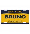 Plaque immatriculation USA New York