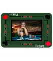 tapis de jeu poker personnalisé
