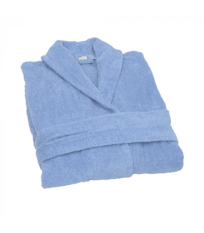 Peignoir de bain bleu Clarysse