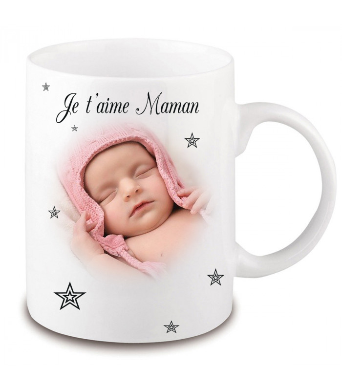 mug avec une photo