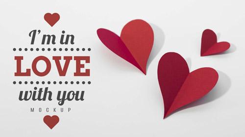 des coeurs pour une jolie saint valentin