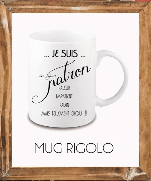 mug original personnalisé photo