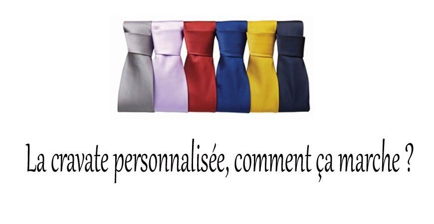 Et si on parlait cravate personnalisée ?